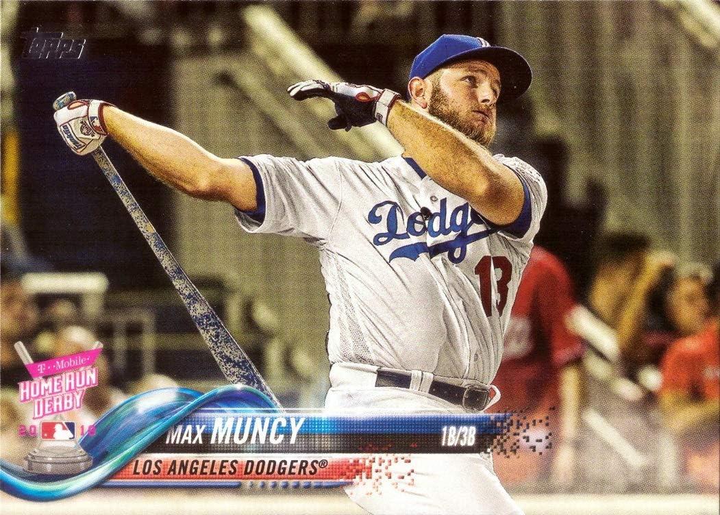 2018 Topps Update #US255 Max Muncy Los Angeles Dodgers Baseball Card - 2018 Home Run Derby