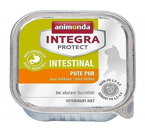 animonda Integra Protect Intestinal de gato húmedo Forro con Pute | Dietas gato Forro | húmedo