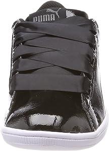 Puma Damen Vikky Ribbon P Sneaker, Schwarz Black Black, 36