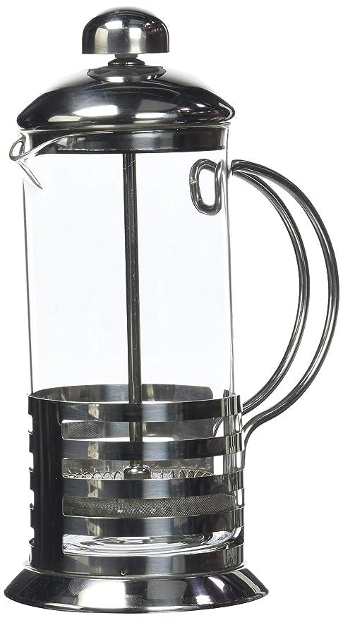 Axentia 223565 - Cafetera de émbolo (350 ml, vidrio y acero ...