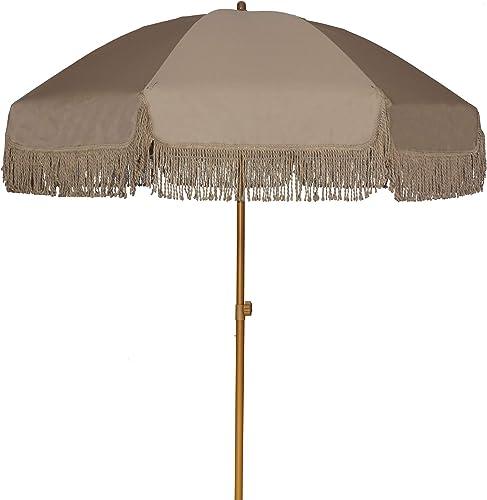 AMMSUN 7ft Patio Umbrella