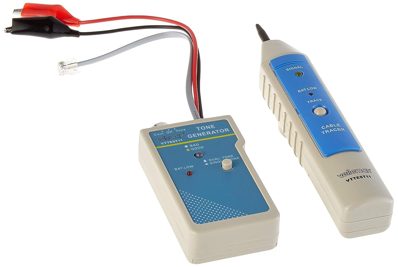 Velleman VTTEST11 tester per cavo di rete Bianco