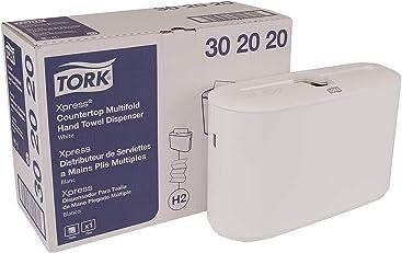 Tork Xpress 302020 Countertop Multifold Hand Towel Dispenser, Plastic, 7.92