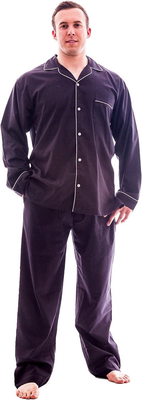 Up2date Fashion Men Woven PJ Set, Style PJ-52MM