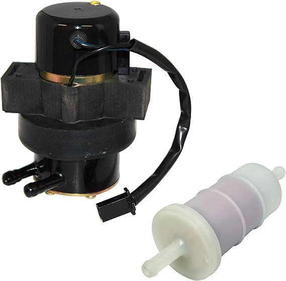 Road Passion 12v 50LPH Electric Fuel Pump for Honda Interceptor 700 VF700F 1984-1985// Interceptor 750 VF750F 1984 Magna 700 VF700C 1984