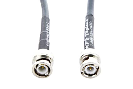 MPD Digital rg8x-bnc-antenna-cable-2FT RG-8X MILSPEC Mini
