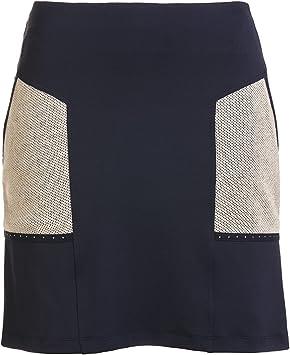 GOLFINO Falda pantalón Corta de Golf Dry Comfort con Ribete de ...