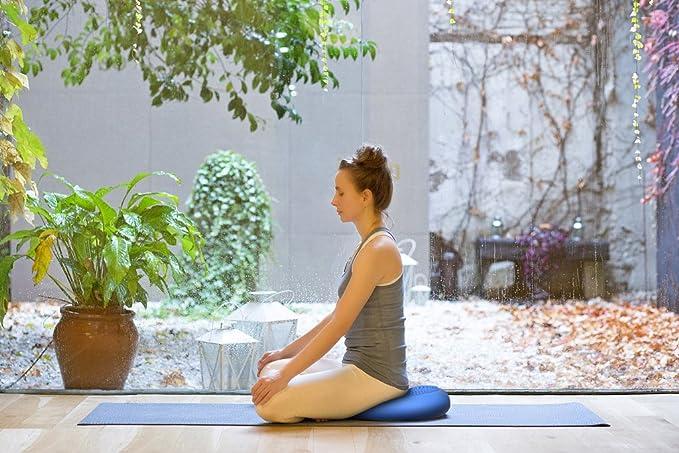 Massage Gleichgewichtskissen 34cm//35cm Balancekissen B/ürokissen mit Handbuch Pumpe Fitness Kissen R/ückenkissen Sitzkissen f/ür Fitness Balance Yoga GSOTOA Ballsitzkissen
