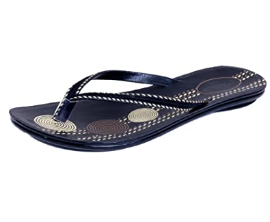 a36c3cd29b557c IndiWeaves Women Comfortable Flip flop Sandal And House Slippers Size  8  IND UK  Buy Online at Low Prices in India - Amazon.in