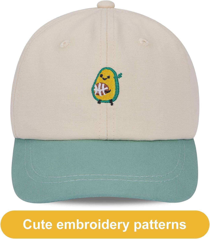 LIVACASA Bambini Cappello da Baseball con Visiera Casuale Estivo Protezione UV Sport Capello Ragazze Berretto Ragazzi Traspirante Regolabile
