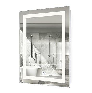 LED Bathroom Mirror 24 Inch X 36
