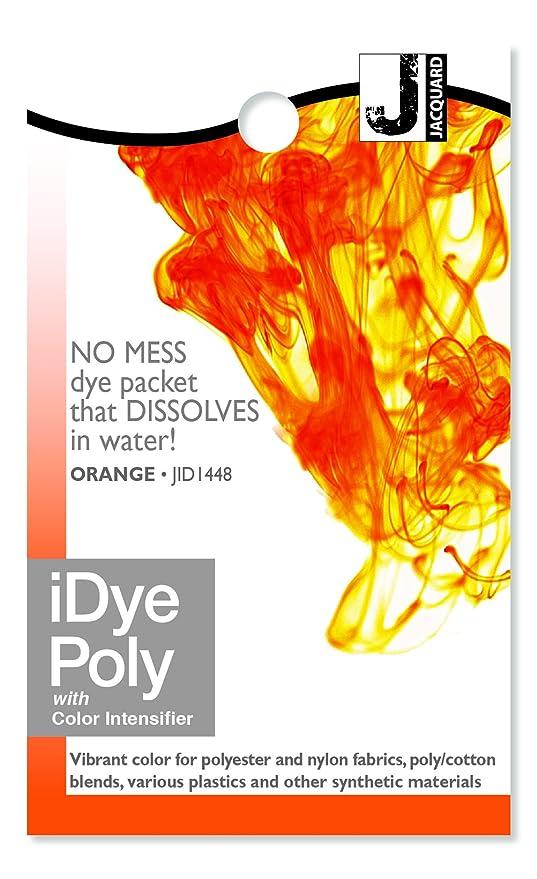 Orange Jacquard iDye Fabric Dye Poly /& Nylon 14g