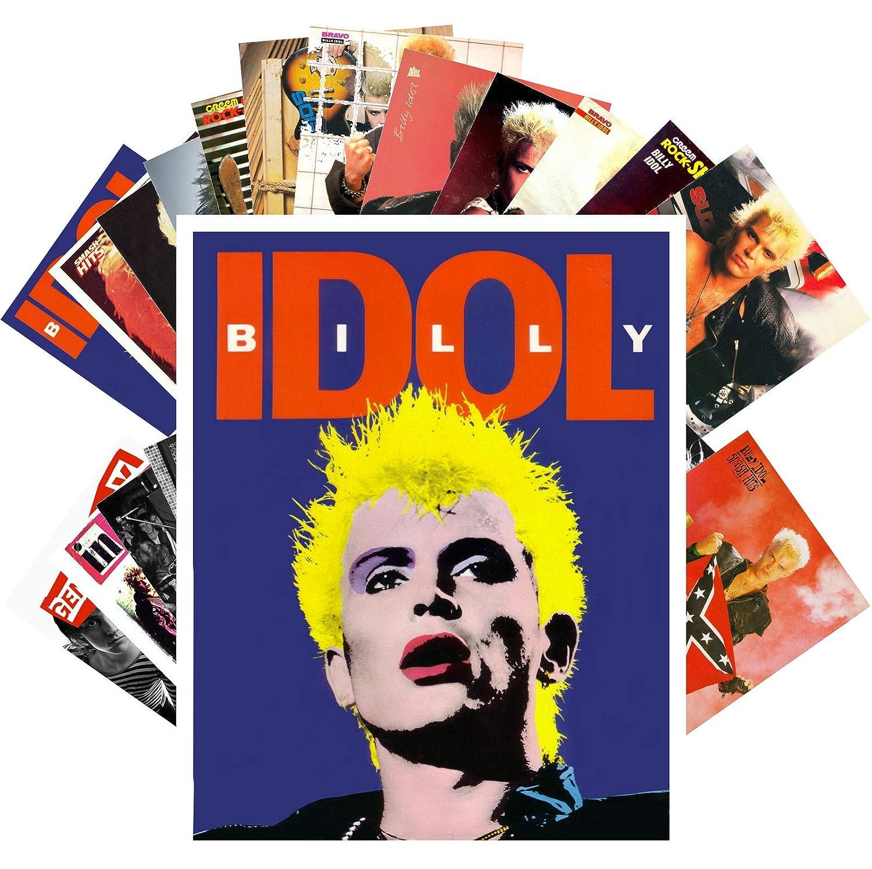 Amazon com: Postcard Set 24 cards BILLY IDOL GENERATION X