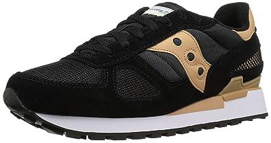 Saucony Originals Mens Shadow Original Sneaker Black/Tan 375 D(M) EU/4 D(M) UK