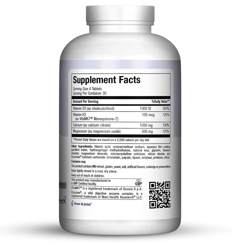 Amazon.com: Maxi Salud cal-m-d – Citrate – con vitaminas K2 ...