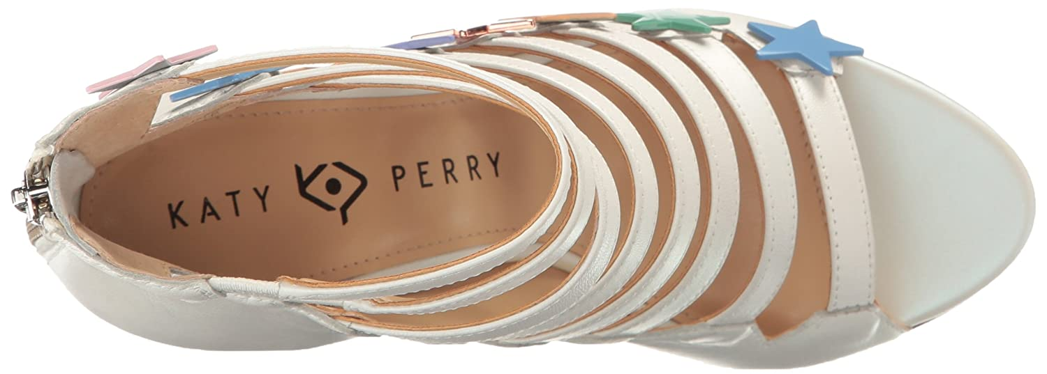 Katy Perry Womens The Stella Suede Ankle-High Pump