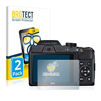2x BROTECT Protector Pantalla para Nikon Coolpix A Película Protectora
