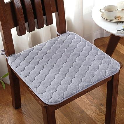 Amazon Com Qtqz Padded Dining Chair Cushion Non Slip Winter Student