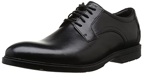 Rockport Men's City Smart Plain Toe Shoes - Black, ...