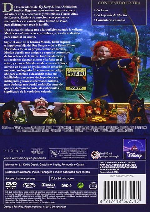 Brave [DVD]: Amazon.es: Animación, Mark Andrews, Brenda Chapman, Animación: Cine y Series TV