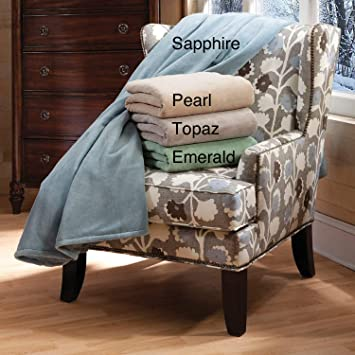 Serta marca Luxe - peluche manta de calentamiento eléctrica: Amazon.es: Hogar