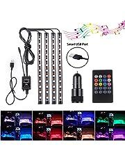 Speclux BS-SLDW07-RGB LED Strip Lights Car Interior Atmosphere Lights, RGB, 48 LED