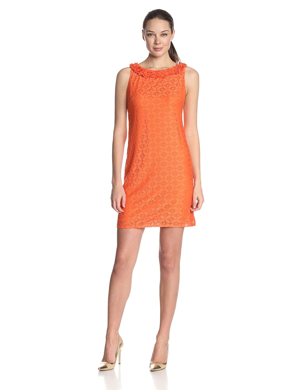 Muse lace sheath dress