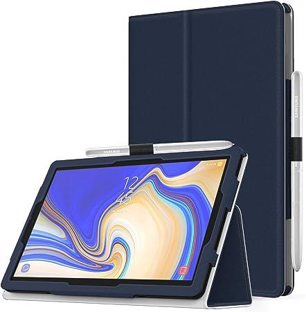 MoKo Coque Samsung Galaxy Tab S4 10.5Inch, Housse Etui Pliable Premium avec Réveil Automatique et Sommeil pour Tablette Samsung Galaxy Tab S4 10.5 ...