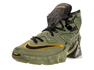 01759642f166a Image Unavailable. Image not available for. Color  Nike Men s Lebron XIII  Alligator Black Multicolor Basketball Shoe ...