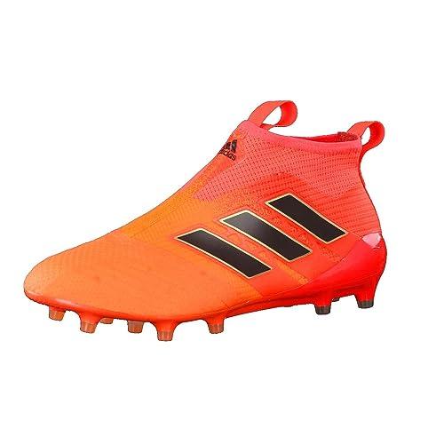 free shipping 07c91 ca7e1 adidas Uomo Ace 17+ Purecontrol Fg Scarpe Sportive Arancione Size 43 13