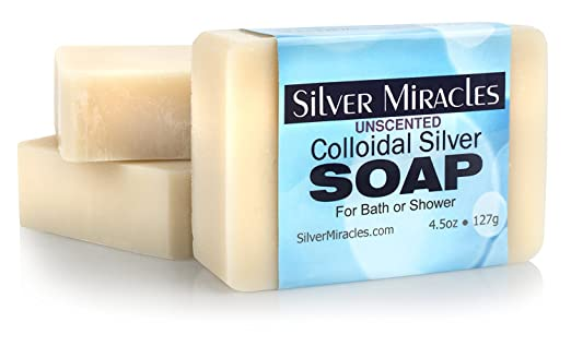 Colloidal Silver Soap - 3 pack
