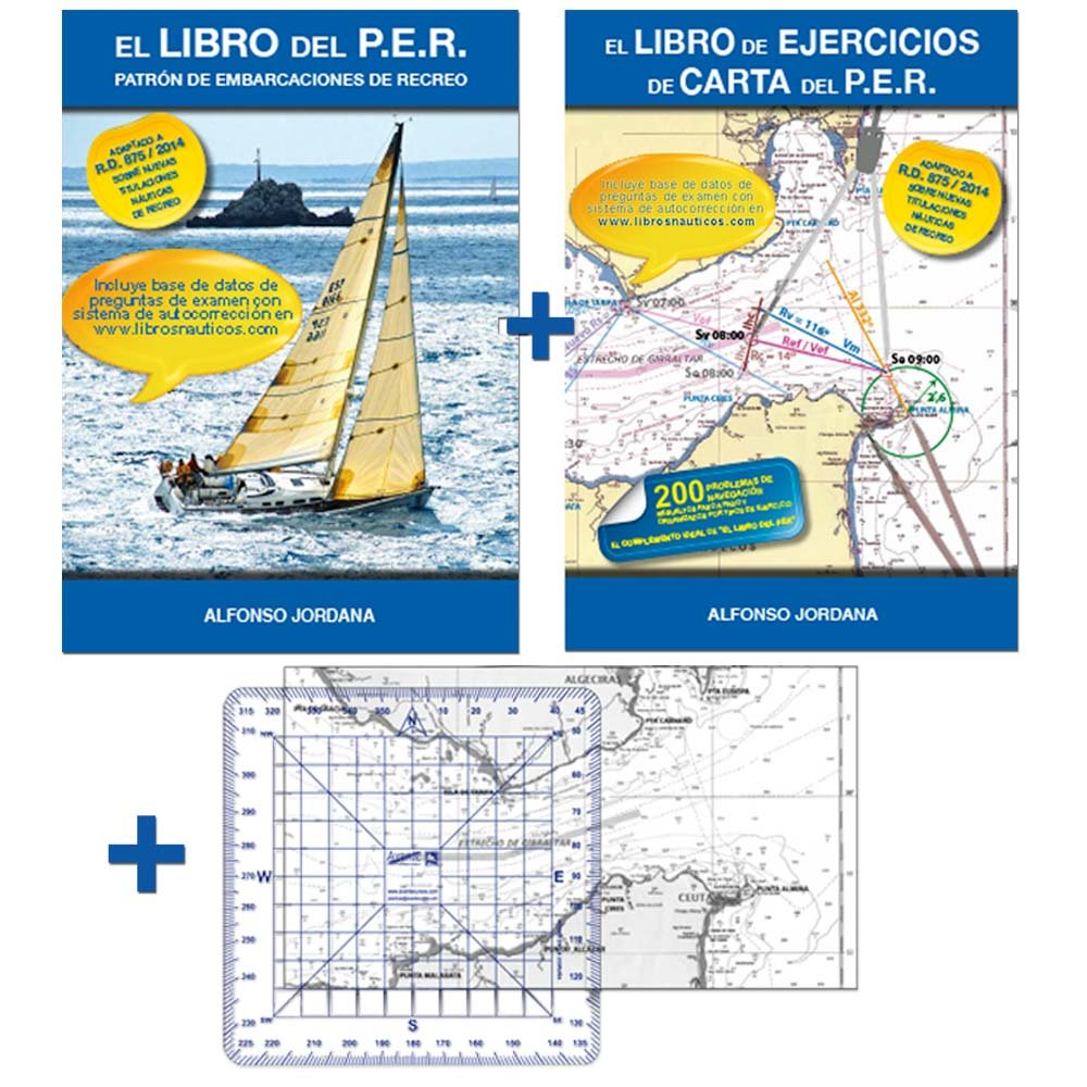 PACK PER PLUS: LIBRO PER+LIBRO EJERCICIOS+TRANSPORTADOR+CARTA ...