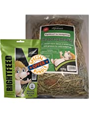 RightFeed Natural Hedgehog Bedding + Hedgehog Food Fruity Mix combo