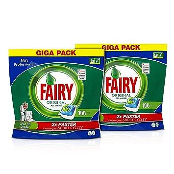 Fairy Profesional Pastillas Lavavajillas Original Todo en 1 ...