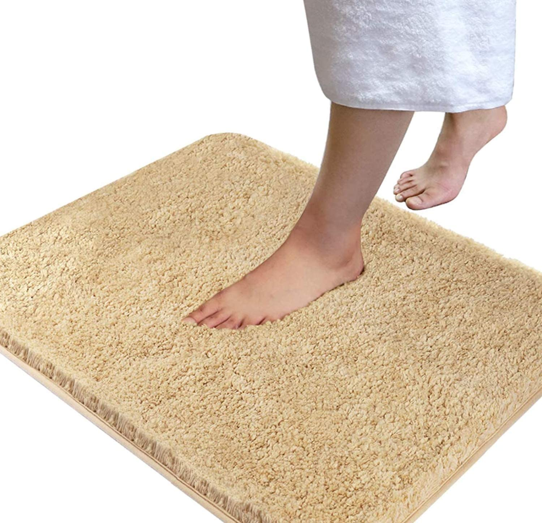 Absorbent Non-slip Soft Memory Plush Shower Mat Bath Bathroom Floor Foam Rug New