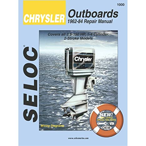 amazon com chrysler outboards 1962 1984 3 5 150 hp engine repair rh amazon com Old Chrysler Outboard Motor Parts Old Chrysler Outboard Motor Parts