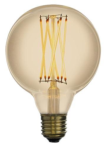 LED Zen lzg2041 a bombilla decorativa LED de Filamento cristal 4 W E27 ámbar