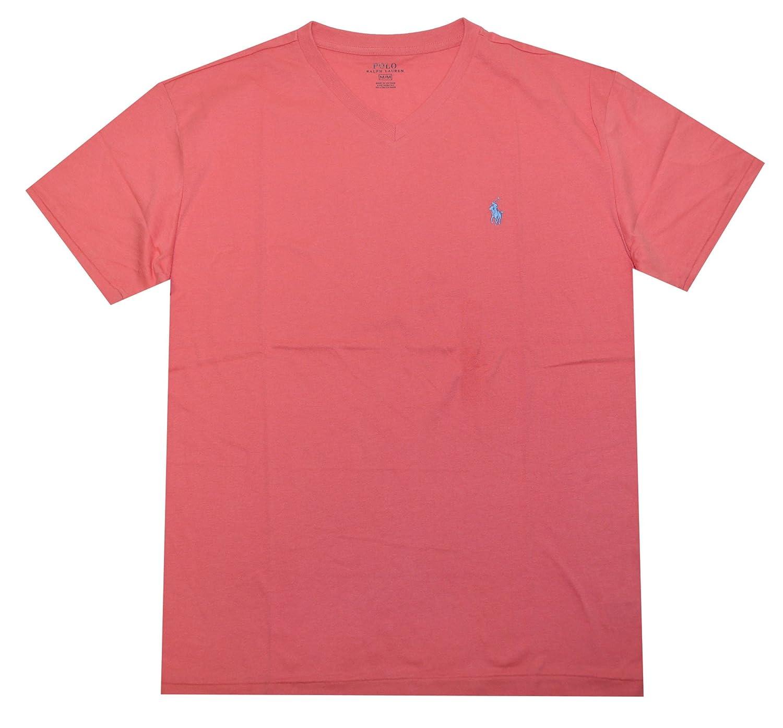 POLO RALPH LAUREN Hombres de Corte clásico Cuello de Pico t-Shirt ...
