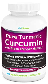 VitaBreeze Turmeric Curcumin supplement