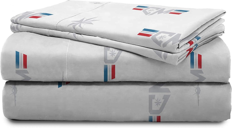 Full Jay Franco Captain Marvel Cool Energy Bed Set