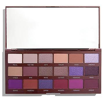 メイクアップレボリューション アイラブメイクアップ チョコレート型16色アイシャドウパレット #Violet