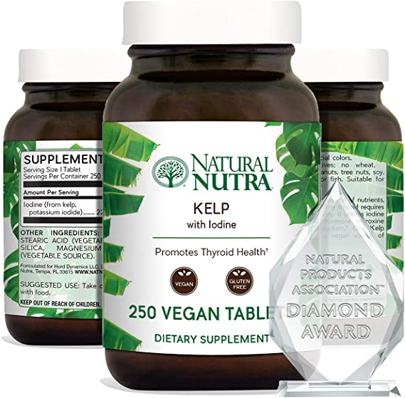 Natural Nutra Kelp Iodine Supplement