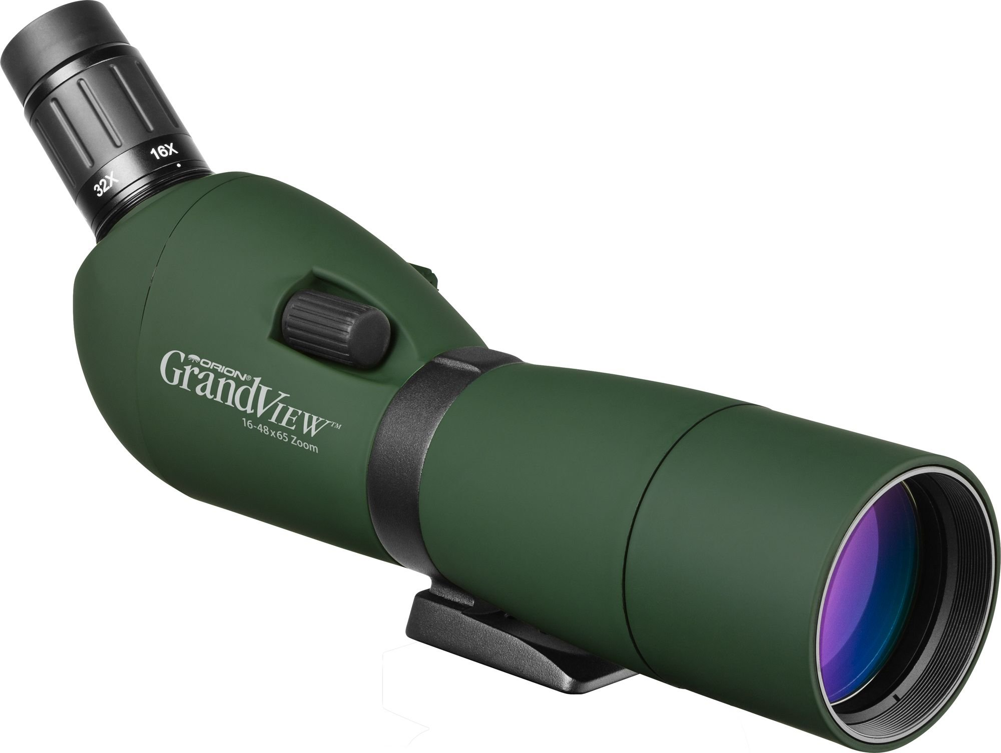 Orion 52205 GrandView 16-48x65mm Waterproof Zoom Spotting Scope (Green) by Orion