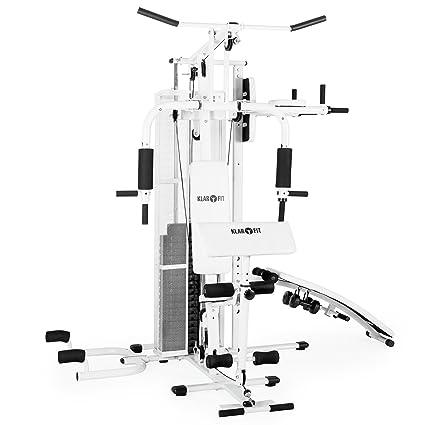 Klarfit Ultimate Gym 5000 • Unidad de musculación • Entrenador de casa • Unidad de entrenamiento ...