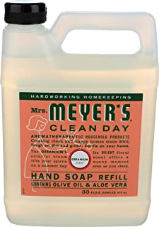 product image for Mrs. Meyer'S Hand Soap Liq Refl Geranm 33 Fz