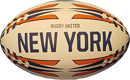 Black and Gold Major League Rugby Victor Elite Match Ball