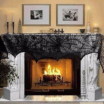 Amazon Veronica Halloween Decorations Fireplace Door Cover