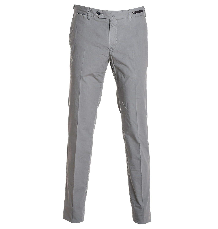 PT01 Mens DT01Z00HAVBP220333 Grey Cotton Pants