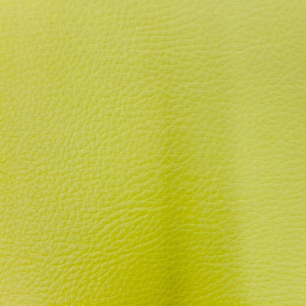 Craftine Simili cuir dameublement uni Vert pomme Par 50 cm