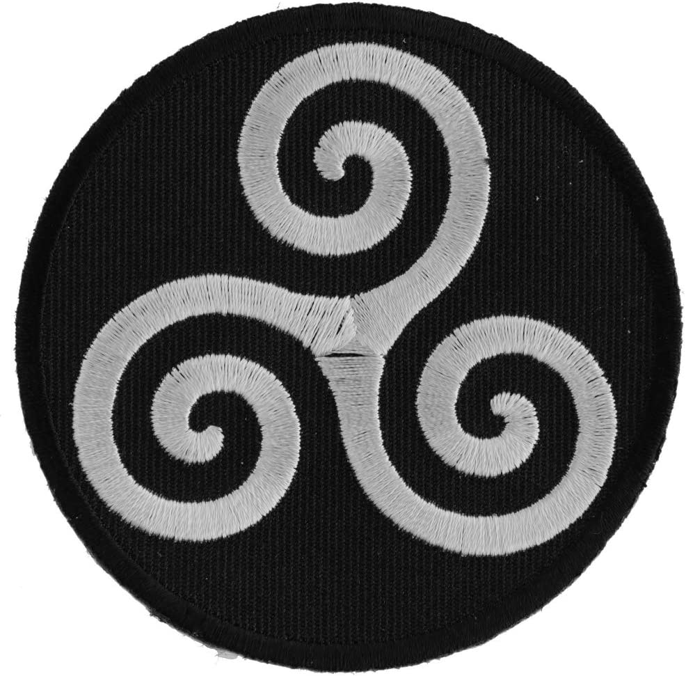 Amazon Com Karma Symbol Patch 3x3 Inch Arts Crafts Sewing Hidden meanings of the 4 most powerful celtic symbols. karma symbol patch 3x3 inch